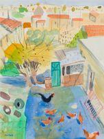 Glen Scouller; Hen Run, Vassa (sic), Cyprus