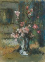 Alexander Rose-Innes; Vase with Blossoms