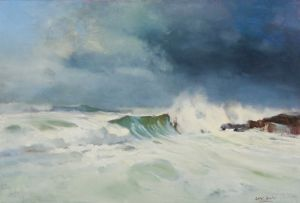 Errol Boyley; Seascape