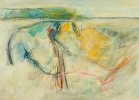 Fred Schimmel; Abstract Landscape