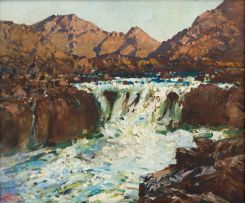 Robert Gwelo Goodman; River, Drakensberg, KwaZulu-Natal