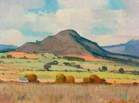 Piet van Heerden; Mountain Landscape