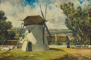 Heinrich von Michaelis; Mostert's Mill, Cape Town