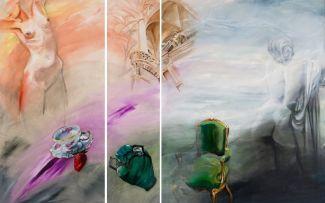 Marié Grotepass; Ongetiteld, triptych