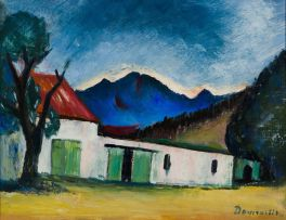 Pranas Domsaitis; Farm Buildings