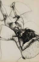 Diane Victor; Reclining Woman