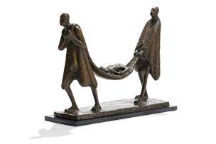 Gerard de Leeuw; Die Siek Kalfie/The Sick Calf