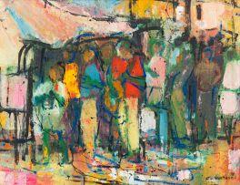 Ephraim Ngatane; Row of Figures