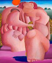 Margaret McKean; Nude in a Landscape