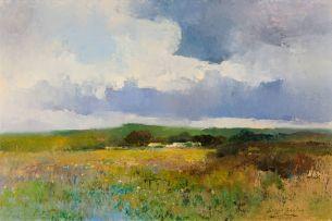 Errol Boyley; View of a Distant Farm