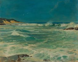 Walter Gilbert Wiles; Seascape