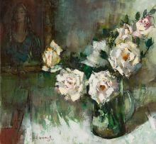 Irmin Henkel; Jug of Roses