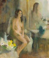 Louis van Heerden; Seated Nude