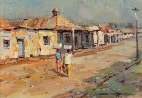 Wessel Marais; Street Scene
