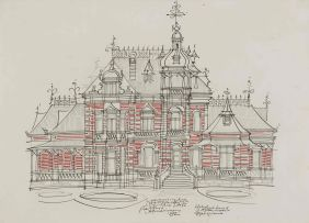 Hannes Meiring; Proposed Residence for the State President of the ZAR, Pretoria