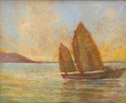 William Timlin; Sail Boat