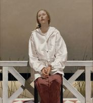 Neil Rodger; Young Woman at a Beach House