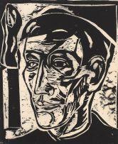 Bill (William John) Davis; Self Portrait