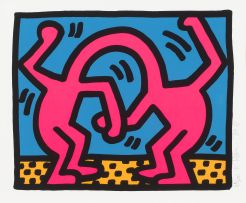 Keith Haring; Pop Shop II