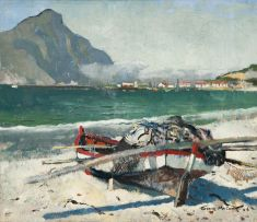 Terence McCaw; Fishing Boat, Hout Bay