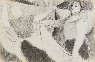 Eleanor Esmonde-White; Hanging the Washing
