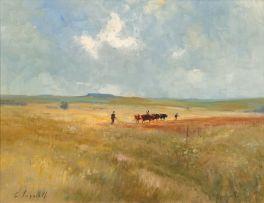 Christopher Tugwell; Herding Cattle