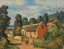 Piet van Heerden; Genadendal Cottages