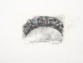 William Kentridge; Untitled (Arc/Procession)
