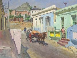 Terence Cuneo; Bo Kaap, Cape Town