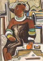 Irma Stern; Ndebele Woman