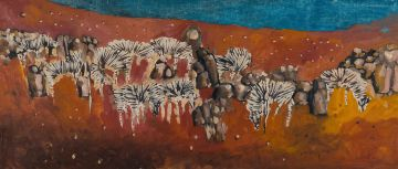 Gordon Vorster; Herd of Zebras