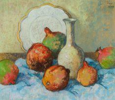 Conrad Theys; Still Life with Pomegranates