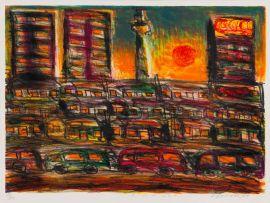 David Koloane; Sunset