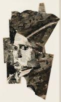 William Kentridge; Untitled (Portrait)