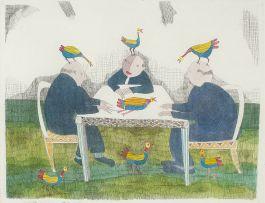 Pieter van der Westhuizen; Bird Brains