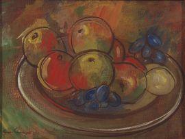 Eugene Labuschagne; A Still Life of Fruit
