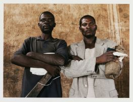 Guy Tillim; Feliciano Sachova and Marcolino Kosenge (Kunhinga portraits series)