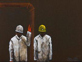Sam Nhlengethwa; Miners