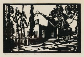 Jacob Hendrik Pierneef; Huis in Rustenburg (Nilant 47)