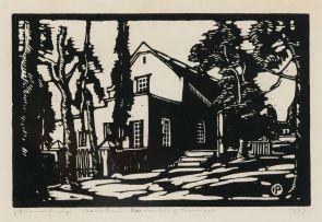 Jacob Hendrik Pierneef; Huis in Rustenburg (Nilant 47)