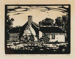 Jacob Hendrik Pierneef; Ou Huise, Silverton (Nilant 41)