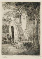 Hugo Naudé; Keller Trap (Loft Staircase)