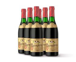 Chateau Libertas; Red halves; 1970; 6 (1 x 6); 375ml