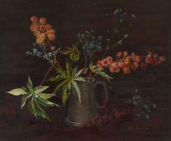 Vernon Spencelayh; Flower Piece