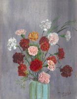 Vernon Spencelayh; Carnations