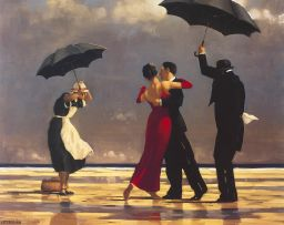 Jack Vettriano; The Singing Butler