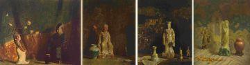 Hovsep Pushman; Orientalist themes, three