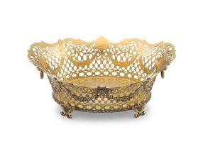 A Victorian silver-gilt basket, Charles Johnston Hill retailed by Asprey & Co, London, 1891, with Austro-Hungarian import marks, 1891-1901