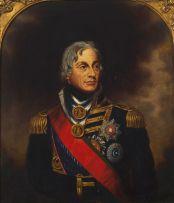 British School 19th Century; Lord Nelson