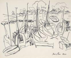 Irma Stern; Boats